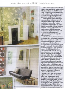 feature in the independent