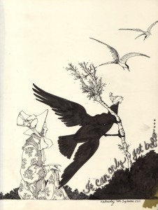 Emily Wallis - Heath Robinson Inspired Illustration