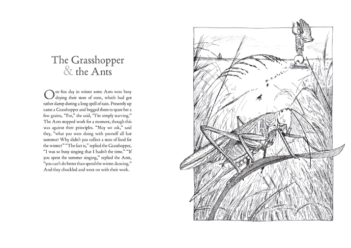 The Grasshopper and the Ants Aesop's Fables