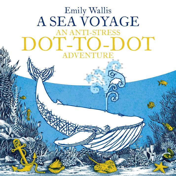 A Sea Voyage An Anti Stress Dot to Dot Adventure