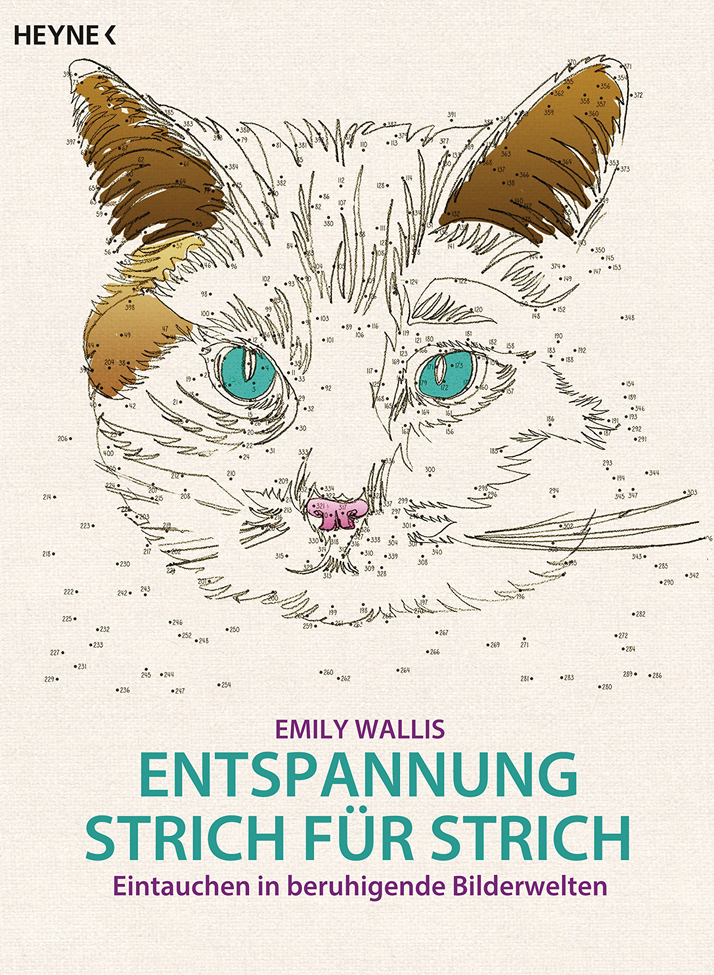 German edition of Anti-Stress Dot-to-Dot by Emily Wallis