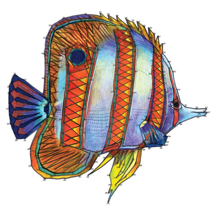 Fish Dot-to-Dot A Sea Voyage