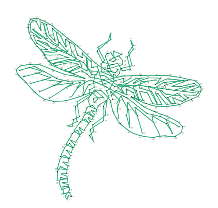 Emily Wallis Dragonfly Dot to Dot