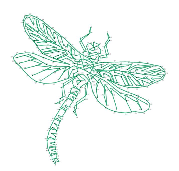 Emily Wallis Dragonfly Dot to Dot