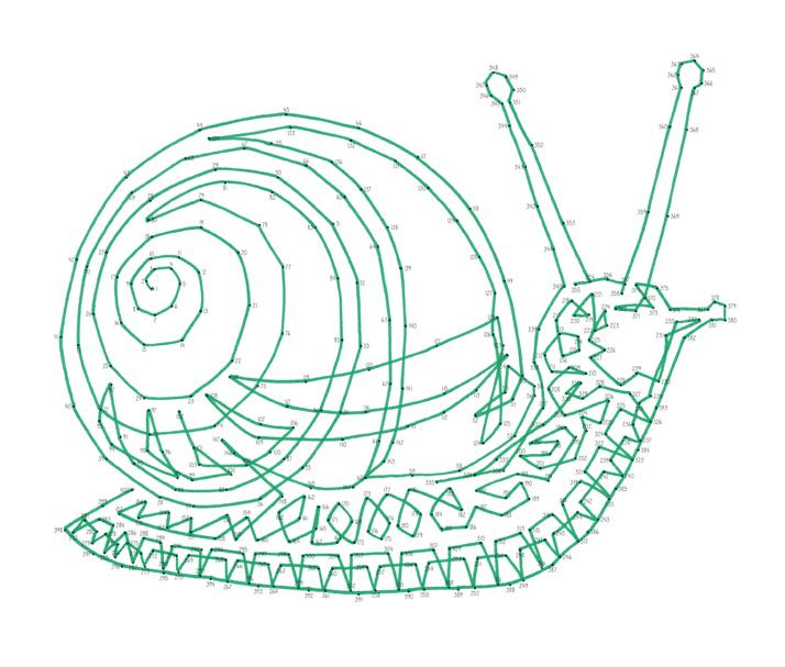Emily Wallis Snail Anti-Stress Dot-to-Dot