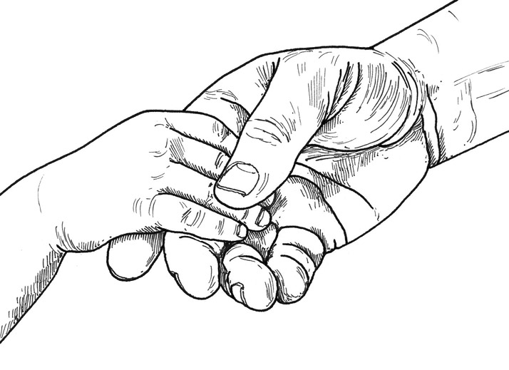 Hands illustration