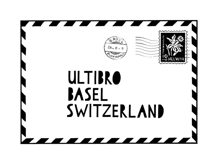 Basel Envelope Illustration