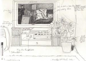 TV Reflection