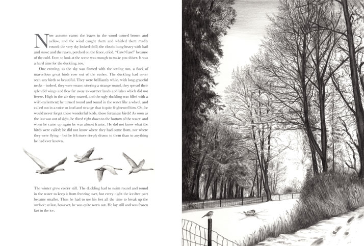 Winter Tree illustration by Emily Wallis