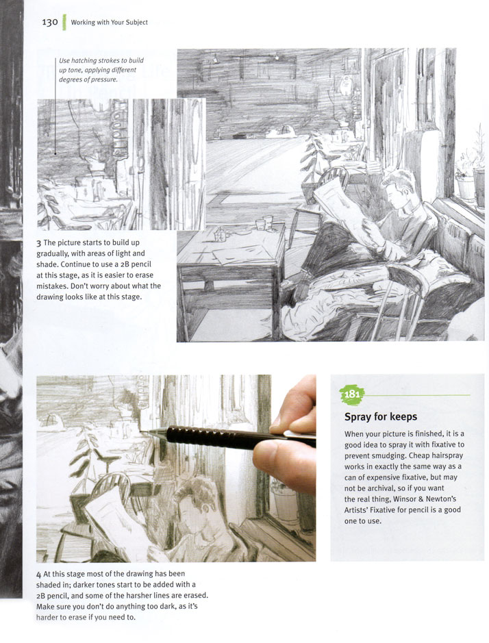 Step by step illustrations for how to draw