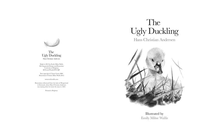 The Ugly Duckling First Page