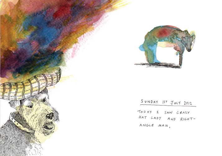 Watercolour illustration by Emily Wallis