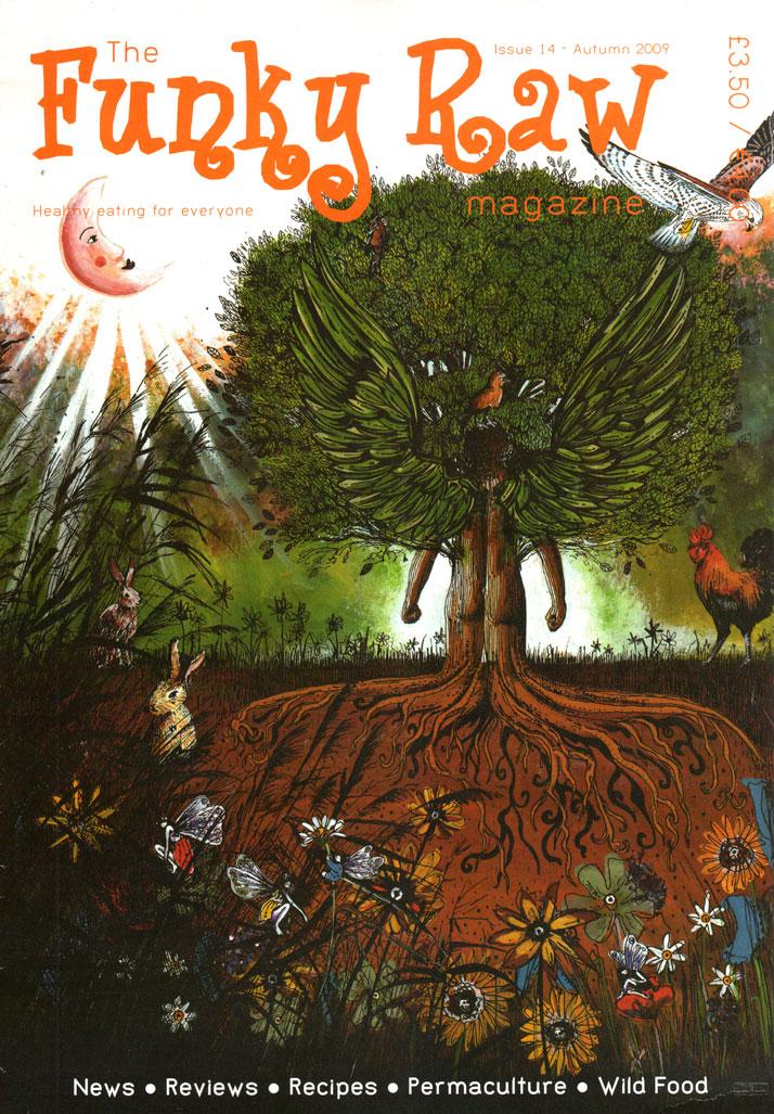 Angel Tree Illustration
