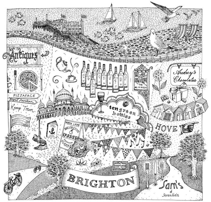 Illustration for Jamie Oliver's Magazine Jamie