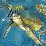 Fairy Tale and seascape illustration