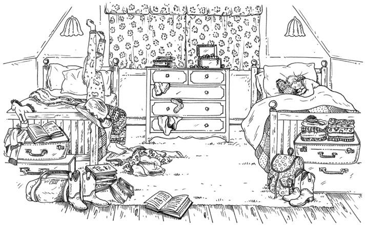 Silver Pony Ranch Illustration