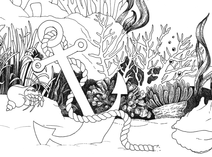 A Sea Voyage dot-to-dot cover artwork